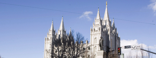 Mormonen-Tempel in Salt Lake City